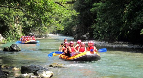 Antharesworld Rafting sulla Dora Baltea